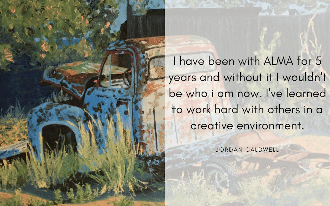 Jordan Caldwell ALMA Apprentice – 5th Year