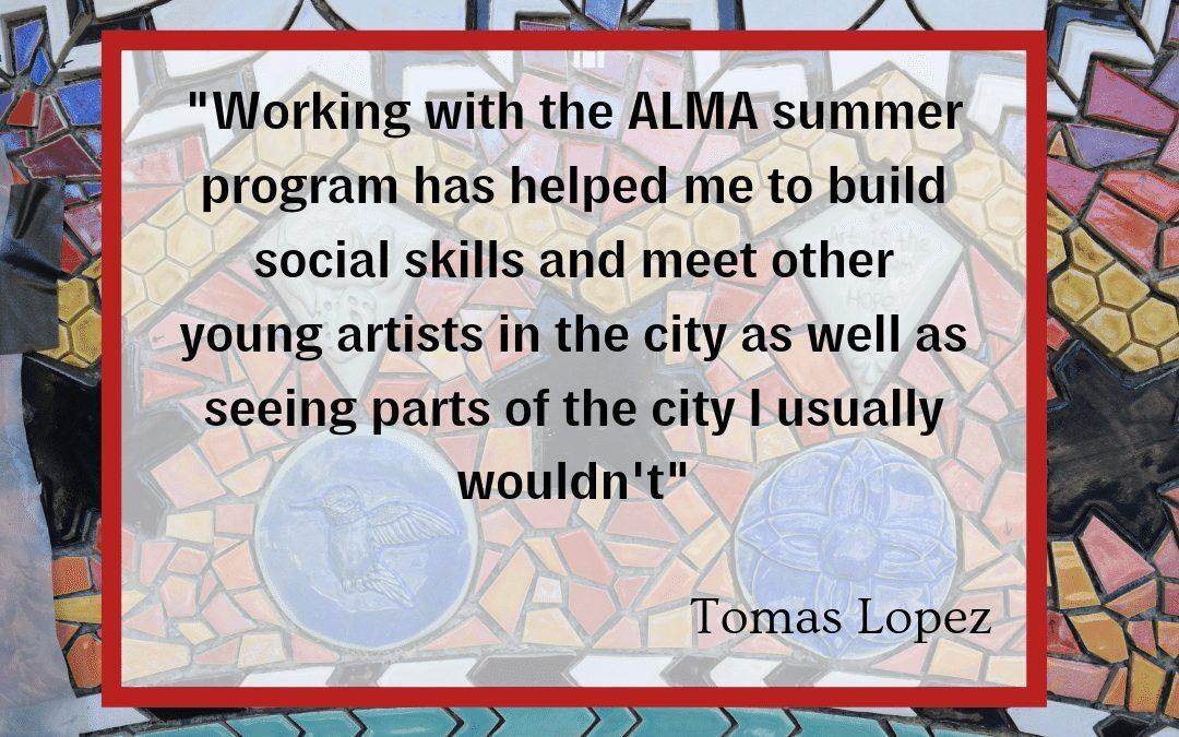 Tomas Lopez Second Year Apprentice