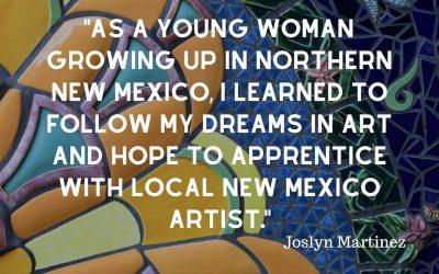 Joslyne Martinez ALMA Apprentice- 1st year